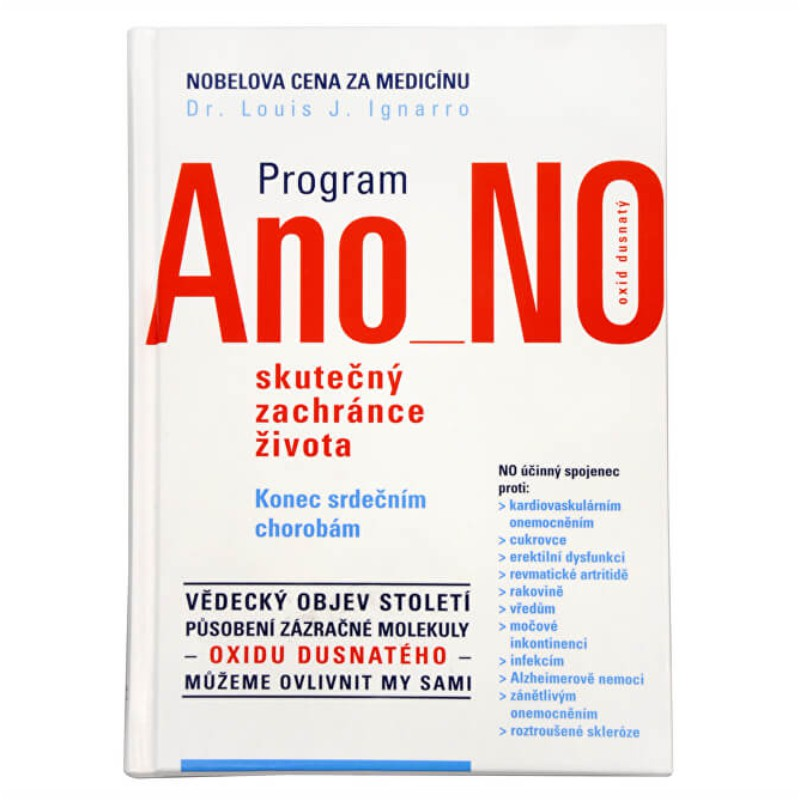 Kniha Dr. Luis J. Ignarro: Program Ano NO